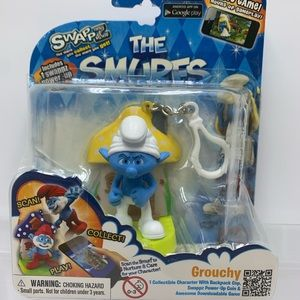 The Smurf Grouchy, Power-up Coin and Game, New!
